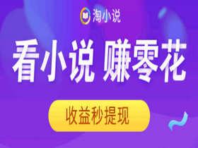 淘小说app手机看小说赚钱软件的又一利器